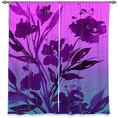 DiaNocheDesigns Curtain Panels (Set of 2); 80'' W x 82'' L