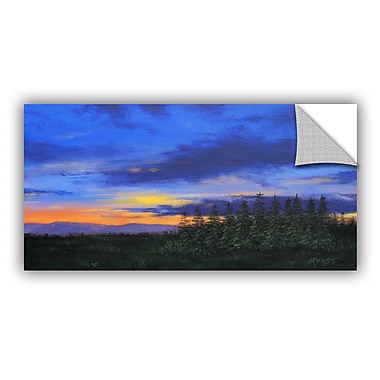 ArtWall 'Constellations' by Gene Foust Painting Print; 24'' H x 48'' W x 0.1'' D