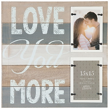 NielsenBainbridge Gallery Solutions Love You More Picture Frame
