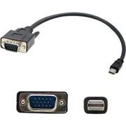 AddOn® 3' Mini-DisplayPort to VGA Male/Male Adapter Cable, Black