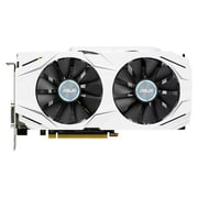 ASUS Dual NVIDIA GeForce GTX 1060-O6G GDDR5 PCI Express 3.0 6GB Gaming Graphic Card