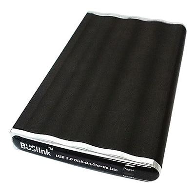 Image of Buslink Disk-On-The-Go DL-640-U3 640GB USB 3.0 Slim Portable External Hard Drive, Black
