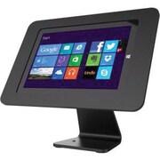 Compulocks® Rokku Surface 303B518ROKB Aluminum Enclosure with Rotating 360 deg Kiosk for Surface 3, Black