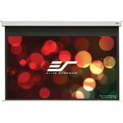 Elite Screens Evanesce B Electric Folding Ceiling Mount Projector Screen, 110""