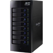 HighPoint RocketStor 8-Bay 6 Gbps SAS/SATA Hardware RAID Enclosure, Black (6418AS)