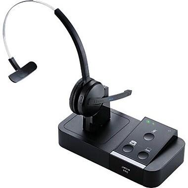 Jabra® Pro 9450-65-14201-35 Flex Mono Wireless Headset with Base, Black