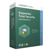 Kaspersky® Total Security Software Common License with Maintenance Box, 3 Devices, Windows (KL1919ABCFS-1721UZZ)