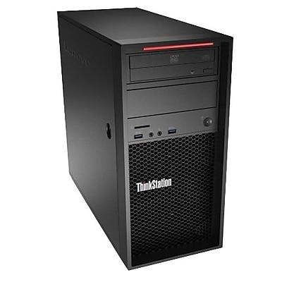 lenovo ThinkStation P410 Workstation, Intel Xeon E5-1607 v4, 1TB, 8GB, Windows 10 Pro, Black (30B3001QUS) 2582124