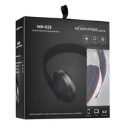 MYEPADS MH-023 Over-the-Head Stereo Wired Headset with Microphone, White
