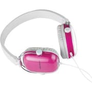 MYEPADS MH-068 Over-the-Head Stereo Wired Headset with Microphone, Pink