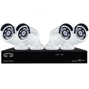 Night Owl Network Video Recorder with 4 x 2K (4MP) Wired IP Cameras (B-4MH5-842 )