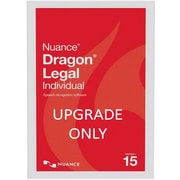 Nuance® Dragon® Legal Individual V.15 Upgrade Software from Pro Individual 15, 1 User, WIN (A590A-RD1-15.0)