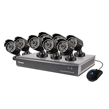 Swann® 16 Channel 720p Digital Video Recorder with Cameras, Gray (DVR16-4400)
