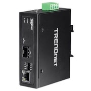 TRENDnet® TI-F11SFP Hardened Industrial 100/1000 Base-T to SFP Media Converter