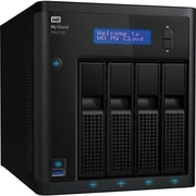 WD® My Cloud Pro PR4100 16TB USB 3.0/Gigabit Ethernet Desktop NAS Server, Black