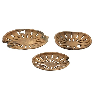 Cole & Grey 3 Piece Decorative Bowl Set