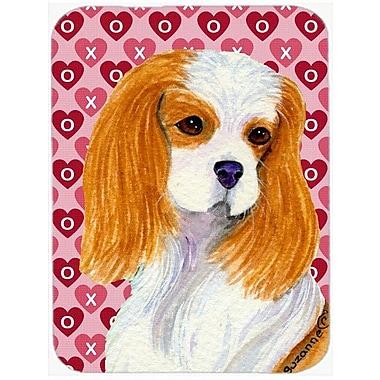 Valentine Hearts Cavalier Spaniel Hearts Love and Valentine's Day Glass Cutting Board
