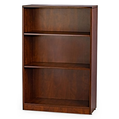 WIS Furniture Group Standard Bookcase; Cherry