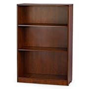 WIS Furniture Group 48'' Standard Bookcase; Cherry