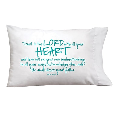 Imagine Design Sleep On It Lord/Heart Pillow Case