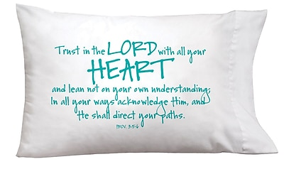 Imagine Design Sleep On It Lord/Heart Pillow Case