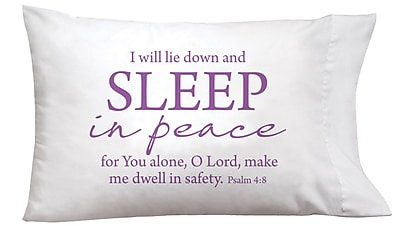 Imagine Design Sleep On It Sleep In Peace Pillow Case