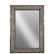 Urban Trends Metal Rectangular Wall Mirror