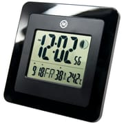 Digital Wall Clock w/ Day, Date, Week Number, Temperature, Alarm and Moon Phase