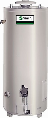 Commercial Tank Type Water Heater Nat Gas 74 Gal Conservationist 75,100 BTU Input Single Flue Model WYF078278584424