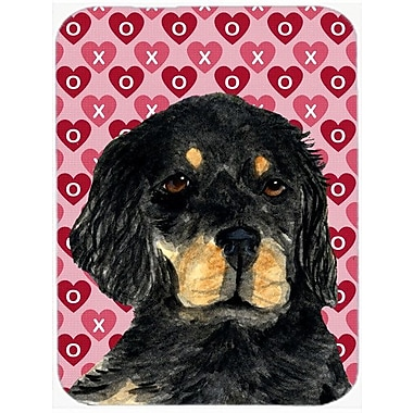 Valentine Hearts Gordon Setter Hearts Love and Valentine's Day Glass Cutting Board