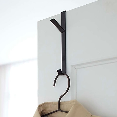 Yamazaki USA Smart Over the Door Hook; Black