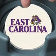 CounterArt NCAA Car Coaster (Set of 2); ECU East Carolina Pirates