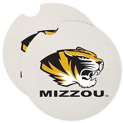CounterArt NCAA Car Coaster (Set of 2); Missouri Tigers WYF078279303969