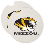 CounterArt NCAA Car Coaster (Set of 2); Missouri Tigers