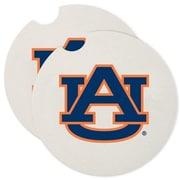 CounterArt NCAA Car Coaster (Set of 2); Auburn Tigers