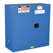 Justrite Sure-Grip  44''H x 43''W x 18''D  2 Door EX Hazardous Material Steel Safety Cabinet