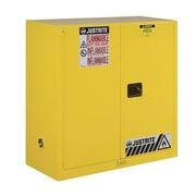 Justrite Sure-Grip  44''H x 43''W x 18''D  2 Door EX Flammable Safety Cabinet