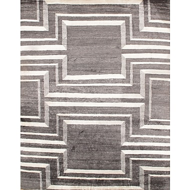 Pasargad NY Hand - Knotted Gray Area Rug; 8' x 10'