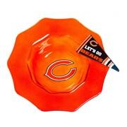 Evergreen Enterprises, Inc NFL Glass Dip Bowl; Chicago Bears