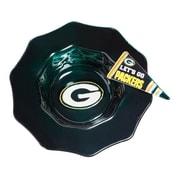 Evergreen Enterprises, Inc NFL Glass Dip Bowl; Green Bay Packers