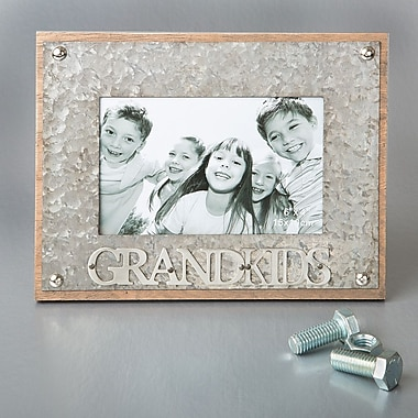 FashionCraft Grandkids Metal Picture Frame