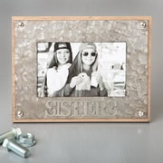 FashionCraft Sisters Metal Picture Frame