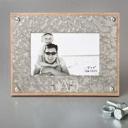 FashionCraft Dad Metal Picture Frame