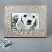 FashionCraft Woof Metal Picture Frame