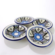Le Souk Ceramique Tibarine Stoneware Platter (Set of 4)