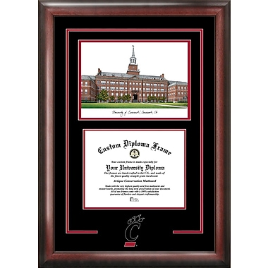 Campus Images NCAA Spirit Graduate Diploma w/ Campus Images Lithograph Picture Frame