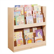 Steffy Double Sided Book Display w/ Casters