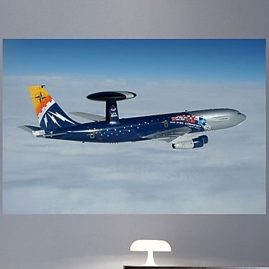 Wallhogs HR 25th Ann. Radar Plane Glossy Wall Mural; 48'' H x 72'' W X 0.1'' D