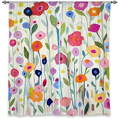 DiaNocheDesigns Curtain Panels (Set of 2); 80'' W x 52'' L