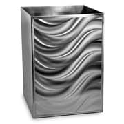 CHF Moire Bath Stainless Steel Trash Can